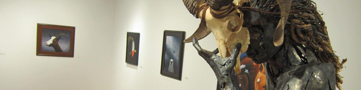 The Modern Mythologies exhibit