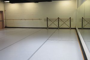 View of the HCCA dance studio