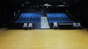 View of HCCA Black box theatre