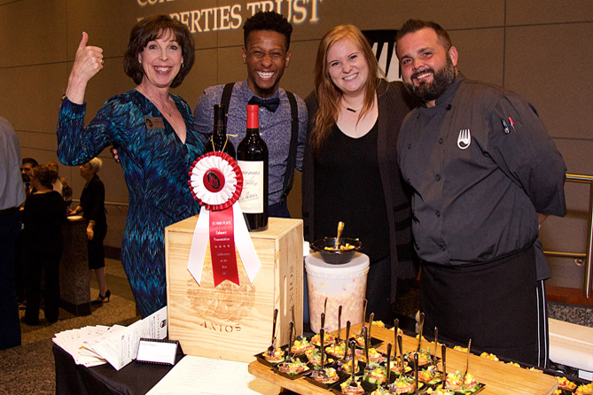 Grille 620, 2nd place, Best Food Display at the 2017 Celebration of the Arts