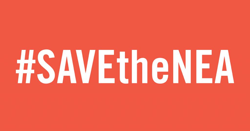 #SAVEtheNEA hashtag
