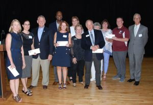 FY17 Grantees with County Executive Allan Kittleman and other county officials at the 2016 Annual Meeting & Grant Awards Ceremony