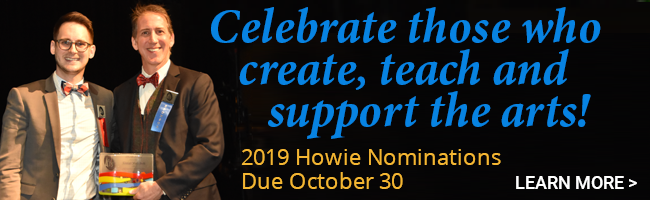 Ad for Howie Award Nominations - due Oct 30