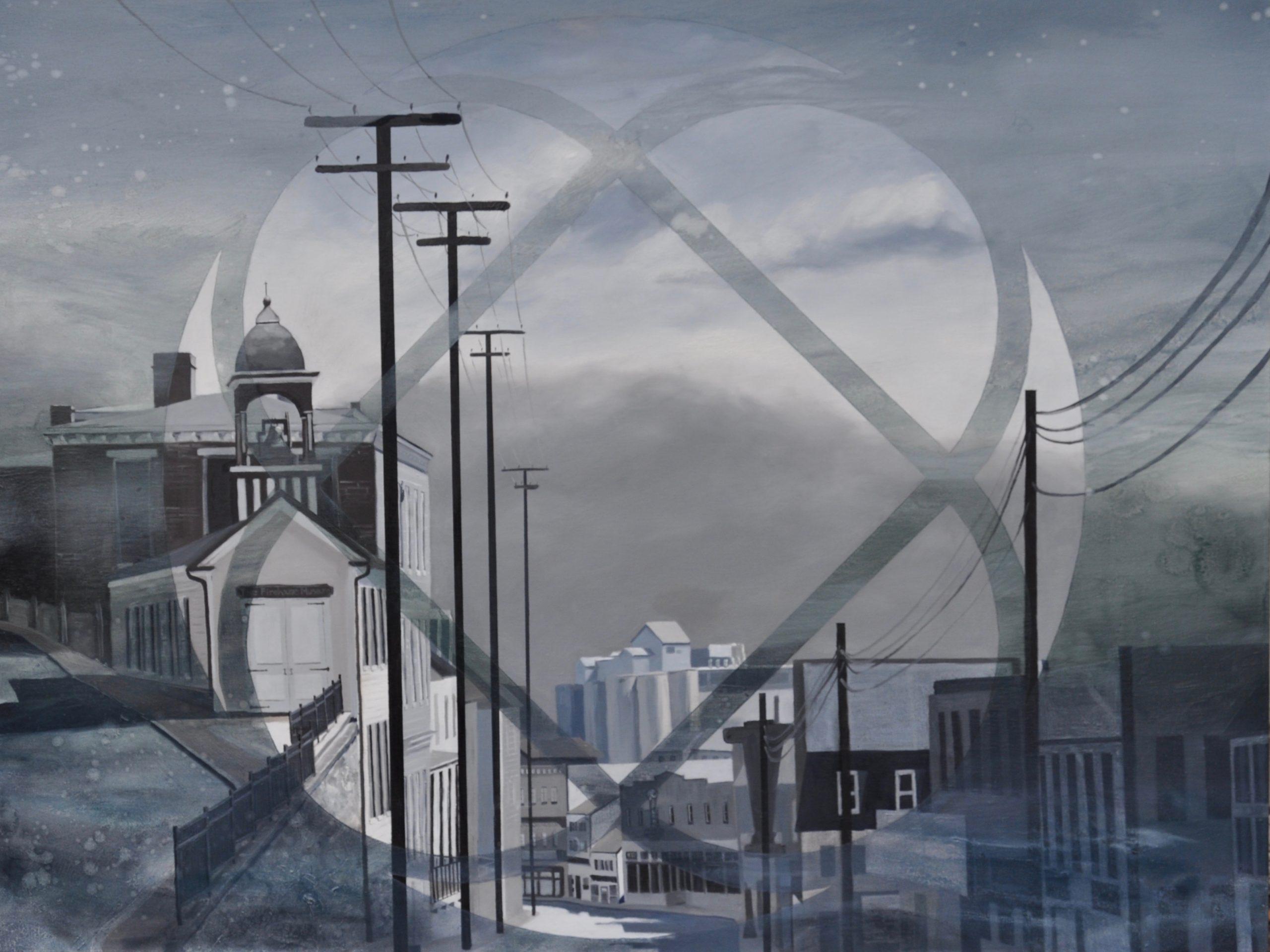 Erasing Places: Paintings by Leah Lewman
